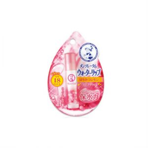 日本ROHTO乐敦制药MENTHOLATUM曼秀雷敦WATER LIP保水力防晒润唇膏SPF20 PA ++ 4.5g 蜂蜜柠檬