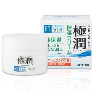 日本ROHTO乐敦 肌研极润玻尿酸保湿面霜 50g