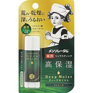 日本MENTHOLATUM曼秀雷敦 深层保湿薄荷味润唇膏 4.5g