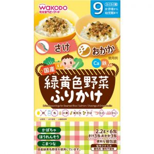 WAKODO VEGETABLES SALMON OKAKA FB-125