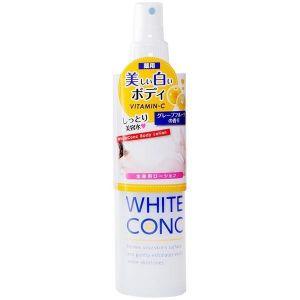 日本WHITE CONC CII维C身体美白保湿喷雾 245ml