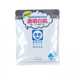日本石泽研究所 透明白肌 豆乳保湿面膜 10枚入