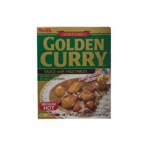 S&B CURRY GOLDEN RETORT M/HOT 1 SERVING 230G