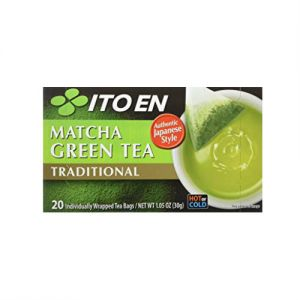 ITO EN Matcha Green Tea Traditional 20bags 30g