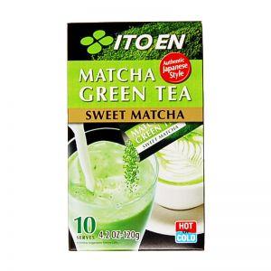 日本ITO EN伊藤园 抹茶绿茶 10包 120G