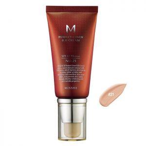 MISHHA M Perfect Cover BB Cream SPF 42 PA+++(50ml) No.21