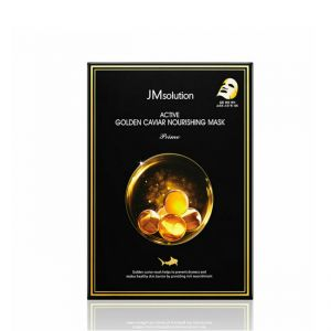 JM SOLUTION ACTIVE GOLD CAVIARMOIST MASK